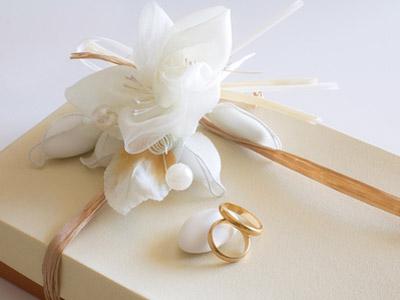 指輪とプレゼント