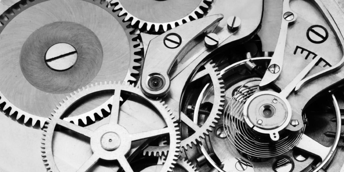 機械式時計の機械