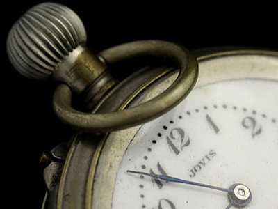 懐中時計を吊り下げる輪